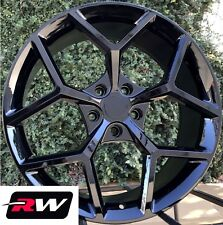 "20 x9"" inch Wheels for Chevy Camaro 2010-2019 Gloss Black Z28 Rims"