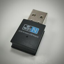 USB WiFi Wireless Mini Adapter Network Dongle 300Mbps Windows Linux 802.11n