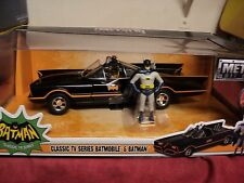 Jada  Batman TV Batmobile w/ figures  1:24 Scale NIB 2016 release black