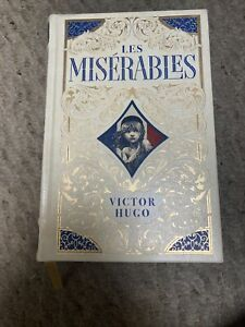 Les Miserables Barnes and Nobles Leatherbound Collectible Book With Gilded Pages