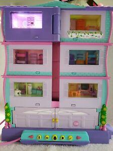 PIXEL CHIX MANSION - LCD - RARE! - Mattel 2006  - Interactive Electronic House