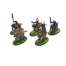 SLAVES TO DARKNESS 5 chaos knights #1 PRO PAINTED Sigmar knight nurgle