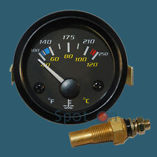 "2"" Water Temperature Gauge 100-250F, 40-120C by Propower"