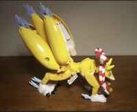 Bandai Digimon Digivolving Kyubimon Taomon Action Figure COMPLETE