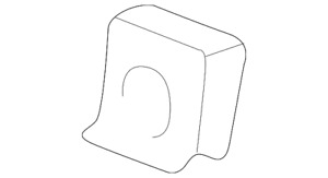 Genuine GM Stop Lamp Assembly Nut 11513715