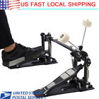 Double Drums Pedal  Bass Dual Foot Kick Percussion Drum Set Accessories