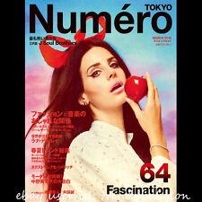 Numero Tokyo Japan #64 March 2013 Lana Del Rey J Soul Brothers Sayaka Akimoto