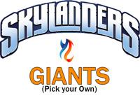 Giants Skylanders Lot   Pick your Own