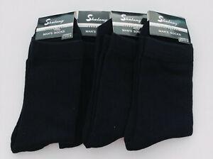 4 pair for $10 Men socks, black socks, work socks, long socks