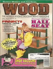 Wood Magazine - Better Homes and Gardens - April 1995 - Issue No. 78