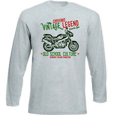 VINTAGE INSPIRED ITALIAN BIKE  LAVERDA GHOST 750 STRIKE - NEW COTTON T-SHIRT