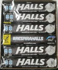 HALLS COOL INTENSE EXTRA STRONG COUGH DROPS - 12 PACKS OF 9 DROPS EA.- FREE SHIP