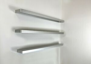 3 Charlotte Perriand Design Bathroom Shelves from Les Arcs 1960's Le Corbusier