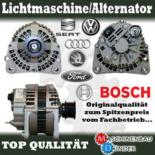 AUDI FORD SEAT SKODA VW 90A LICHTMASCHINE ALTERNATOR ORIGINAL BOSCH !!!