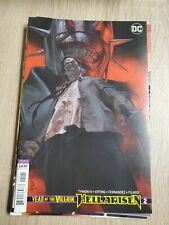 Year of the Villain: Hell Arisen #2 NM- 2020 DC Comic Federici Variant Cover
