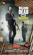 2016 TOPPS THE WALKING DEAD SEASON 5 TRADING CARDS BOX BLOWOUT CARDS