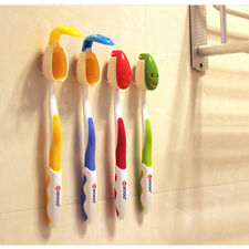 4X Practical Toothbrush Holder Travel Camping Bathroom Smile Face Brush Cover CN