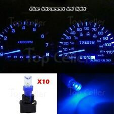10x Pc74 Bulbs Kit Indicator Dash Check Engine Instrument lights Blue For Ford (Fits: Ford Aerostar)
