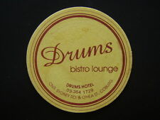 DRUMS HOTEL BISTRO LOUNGE SYDNEY RD & O'HEA ST COBURG 03 3541729 COASTER