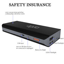 Portable 10000mAh LED Power Bank External USB Battery Charger For Cell Phone