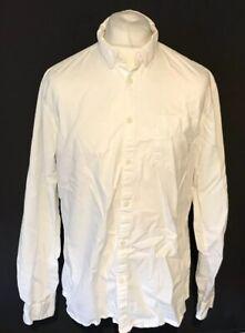 Jack & Jones Men's Cloud Dancer White Shirt Extra Large XL