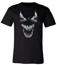 Venom Symbiote City T-Shirt Marvel Movie Themed Men's T-Shirts