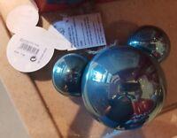 BOULE / ball MICKEY VERT FORET / Green Forest Disneyland Paris Noël / Christmas
