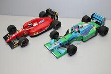Onyx 2 Stück Ferrari F92A und Benetton B193 Formel 1 1:24 #M294
