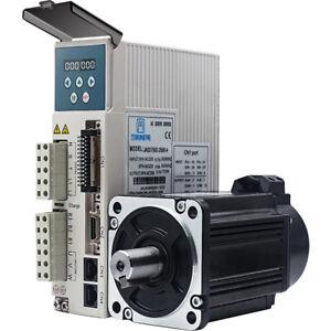 750w 0.75kw 3000rpm 2.39NM 80mm 220V AC Servo Motor&drive kit 2500line JMC CNC