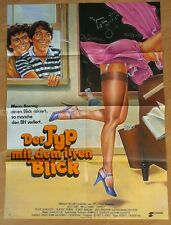 SCOTT BAIO - ZAPPED! * RARE GERMAN ORIGINAL POSTER