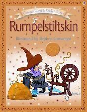 Usborne Sticker Stories: Rumpelstiltskin c2006, NEW Paperback BRAND NEW w/Sticke