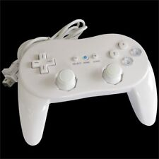 Classic Wired Game Controller Remote Pro Gamepad For Nintendo Wii / Wii U White
