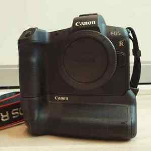 Canon EOS R Optional Charger & Optional Battery Body Only