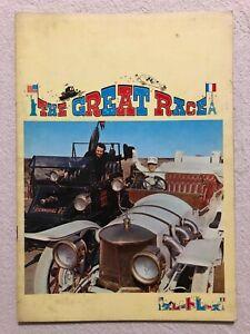 The Great Race Movie Program Book 1965 Natalie Wood Jack Lemmon Peter Falk