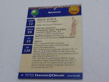 D&D DUNGEONS & DRAGONS MINIATURES ARCHMAGE PROMO EPIC CARD HC503