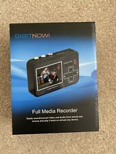 DIGITNOW! iRECORD FULL MEDIA RECORDER BOXED AND COMPLETE