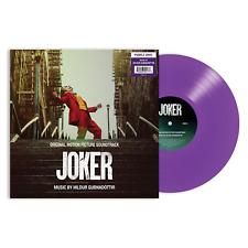 The Joker Original Motion Picture Soundtrack - Exclusive Purple Color Vinyl LP