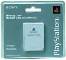 Sony PlayStation 1 Video Game Memory Cards and Expansion Packs
