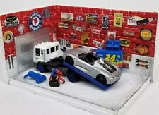 1:64 Scale Diorama Garage Building Interior Parking Scene Diecast Hot Wheels