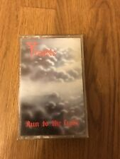 Very Rare Original Album Cassette - Trouble - Run To The Light -1987 Metal Blade