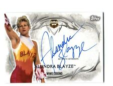 WWE Alundra Blayze 2015 Topps Undisputed Authentic On Card Autograph FD