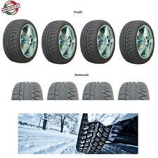 4 Gomme INVERNALI omologate WINTERGREEN Snow3 made in Italy 155/65/13 73 T