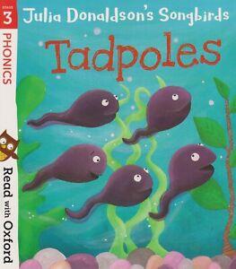 JULIA DONALDSON SONGBIRDS TADPOLES *BRAND NEW* FREE P&P PHONICS