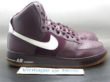 Nike Air Force 1 High '07 Deep Burgundy White Gum Right Shoe 10.5 Left Shoe 11.5