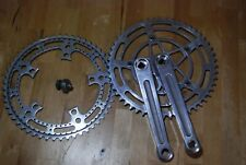Rare Stronglight 93 Pista Track chainset 165mm + 52T rings + tool