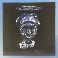 Simple Minds - Mylo Promised U A Remix / Broken Glass Park - Virgin SMRSD2 MINT
