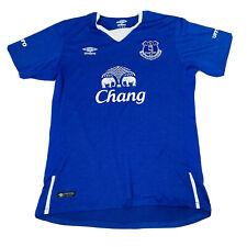 Everton Blue Home Jersey Soccer Size Large EPL