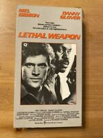 Lethal Weapon - VHS Tape - 1987 Mel Gibson - WARNER - Very Good Condition