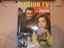 ACTION TV 7 THE AVENGERS DIANA RIGG PROFESSIONALS EMMA PEEL ITC MAGAZINE