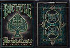 Brimstone Aqua Bicycle Playing Cards Poker Size Deck USPCC Custom Limited New